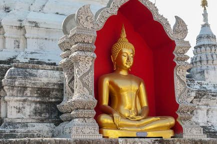 Posąg Buddy, Chiang Mai