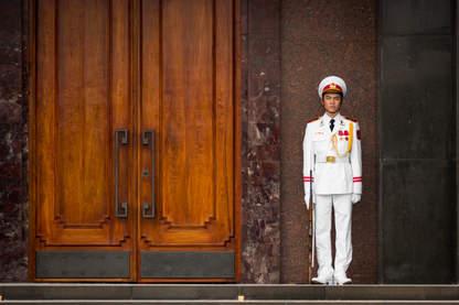 Wietnamski Żołnierz, Hanoi