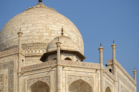 Kopuły Taj Mahal