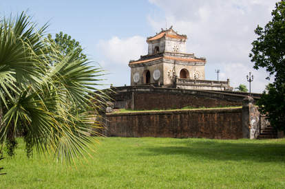 Wieża na murach obronnych, Hue