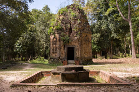 Prasat Sambor Prei Kuk, Kambodża