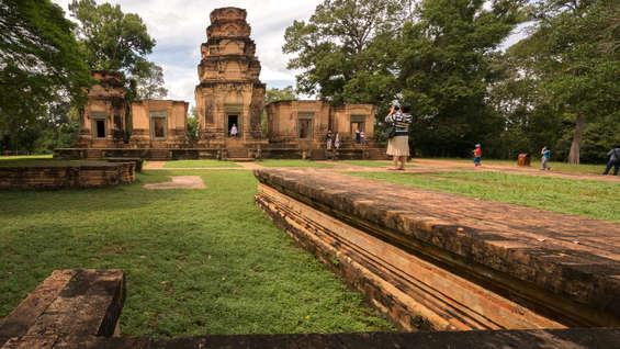 Świątynia Prasat Kravan, Angkor, Kambodża. Fotografia Maciej Rutkowski