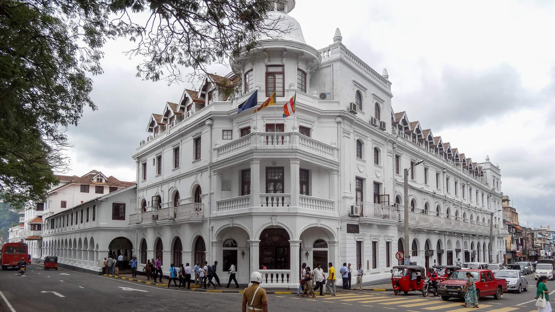 Kolonialna architektura Kandy