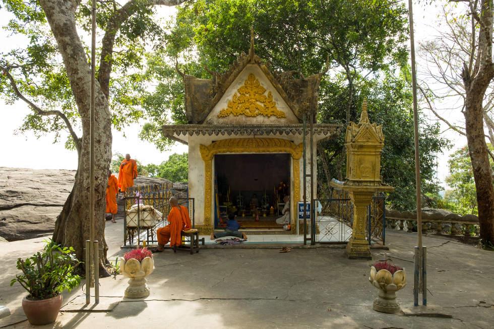 Świątynia na wzgórzu Phnom Santuk