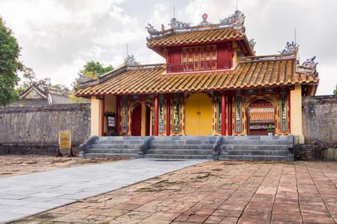 Zabudowania Cesarskiego Grobowca Hue