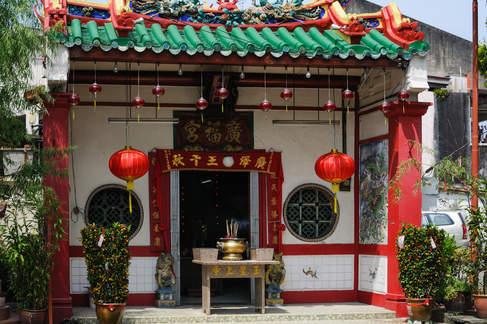 Chińska świątynia, Melaka