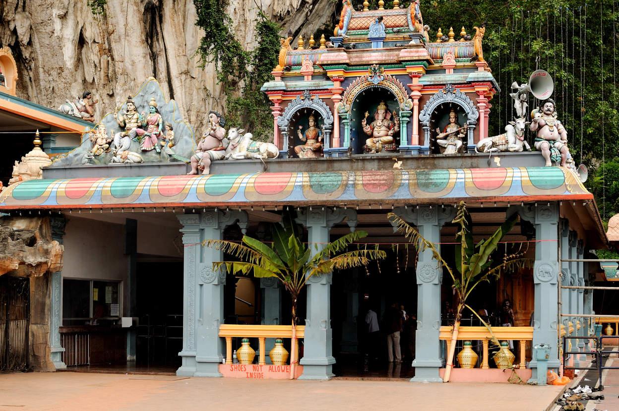 Hinduska świątynia, Kuala Lumpur