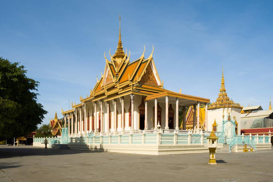 Srebrna Pagoda, Pałac w Phnom Penh