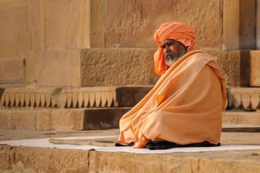 Sadhu w Waranasi