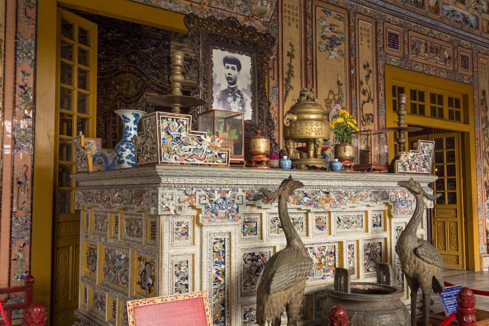 Grobowiec Cesarza niedaleko Hue