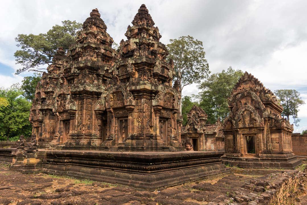 Wieże świątyni Banteay Srei