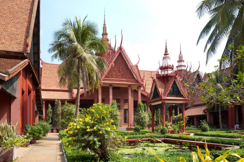 Muzeum Narodowe w Phnom Penh, Kambodża