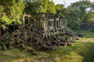 Biblioteka świątyni Beng Mealea