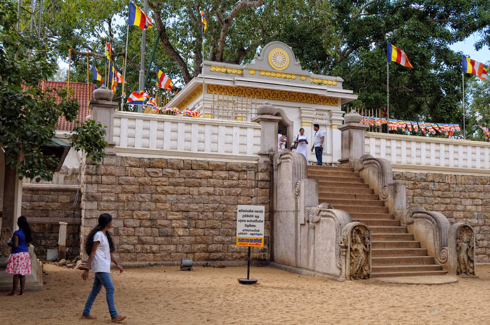 Świątynia Drzewa Bodhi, Anuradhapura
