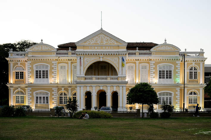 Penang Town Hall, Georgetown