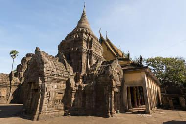 Khmerska świątynia Wat Nokor