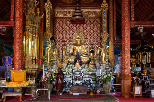 Świątynia Wat Phra Singh, Chiang Rai