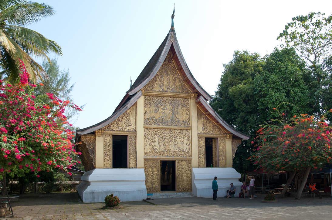 Świątynia w Luangprabang