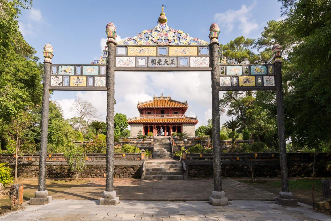 Cesarski Grobowiec, Hue