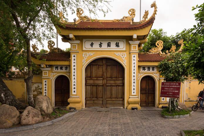 Buddyjska świątynia, Hanoi