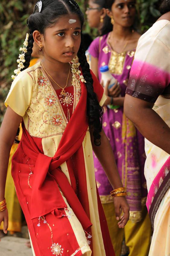 Młoda hinduska, Penang