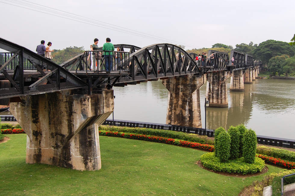 Most na rzece Kwai, Kanchanaburi