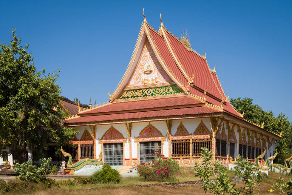 Wat Pha Bat, Pakse
