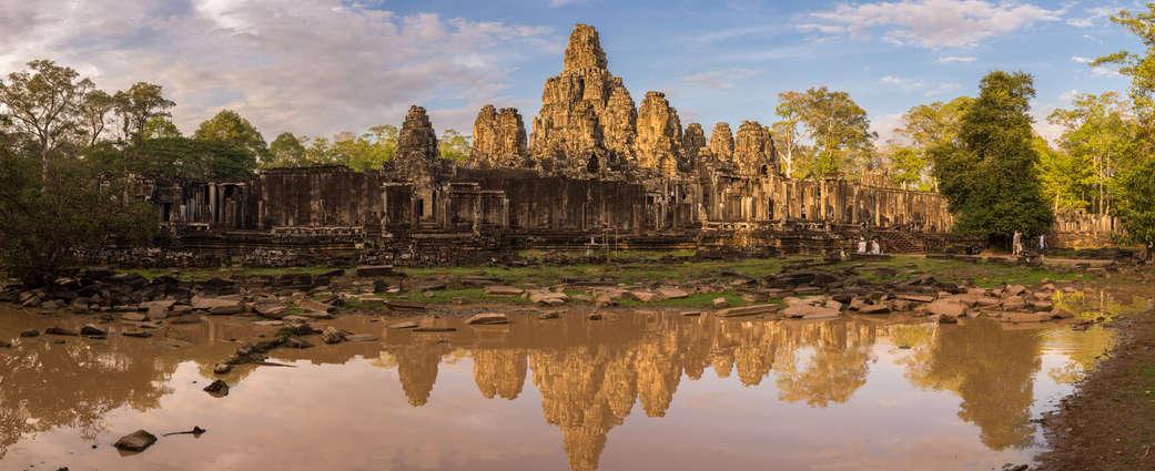 Panorama świątyni Bayon