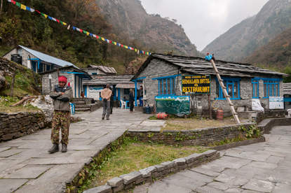 Schronisko Himalaya, Nepal