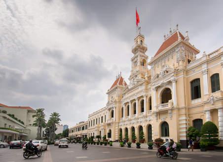 Ratusz w Ho Chi Minh City