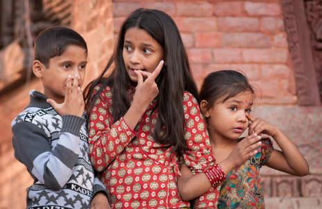 Nepalskie Dzieci, Kathmandu