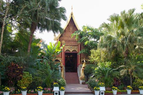 Wat Phra Kaew w Chiang Rai