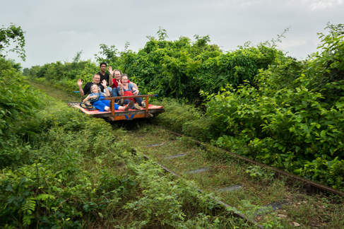 Bambusowy Pociąg, Battambang