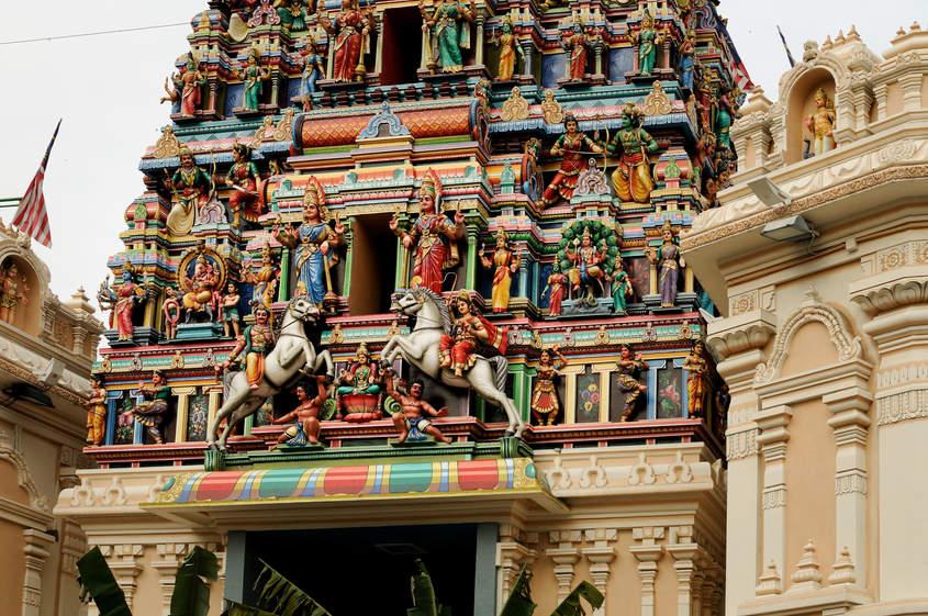 Hinduistyczna świątynia, Kuala Lumpur