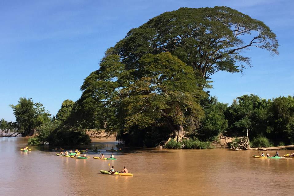 Kajakarze na Mekongu, Don Det