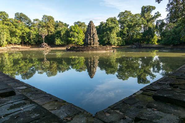 Świątynia Neak Pean, Angkor, Kambodża. Fotografia Maciej Rutkowski