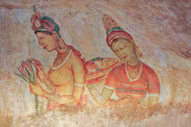 Freski, Sigiriya, Sri Lanka