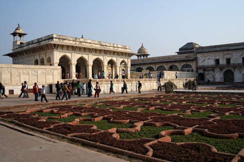 Czerwony Fort, Agra