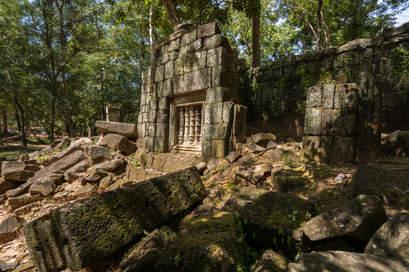 Ruiny w Koh Ker