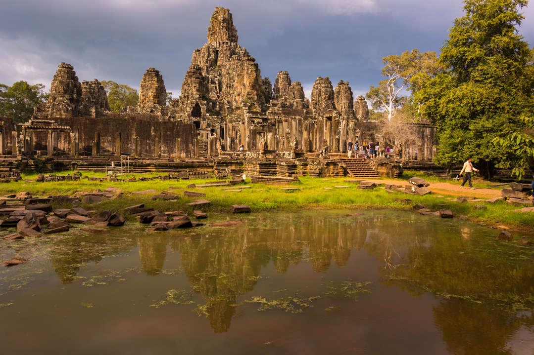 Świątynia Bayon, Kambodża. Fotografia Maciej Rutkowski