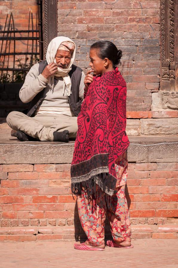 Mieszkańcy Bhaktapur