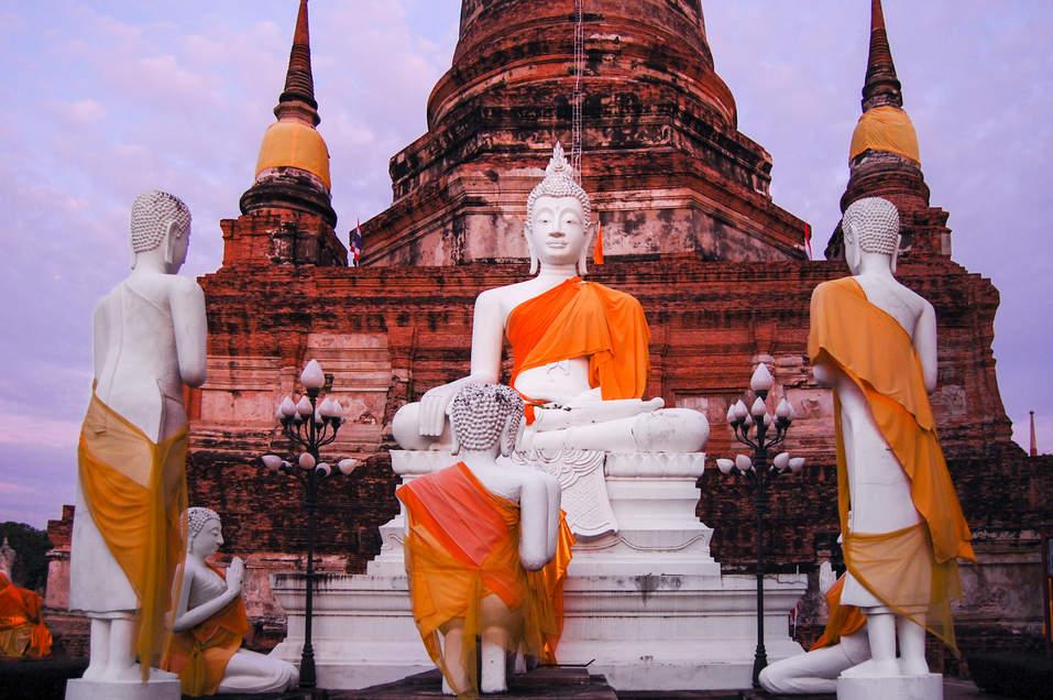 Świątynia w Ayutthaya