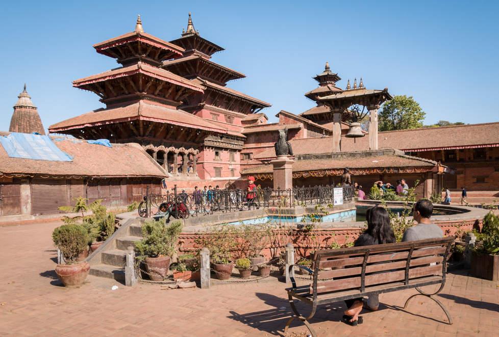 Świątynie, Patan, Nepal