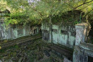 zaginiona świątynia w Kambodży