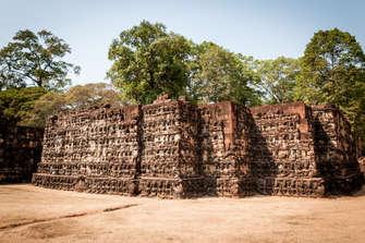 Taras Trędowatego Króla, Angkor, Kambodża. Maciej Rutkowski