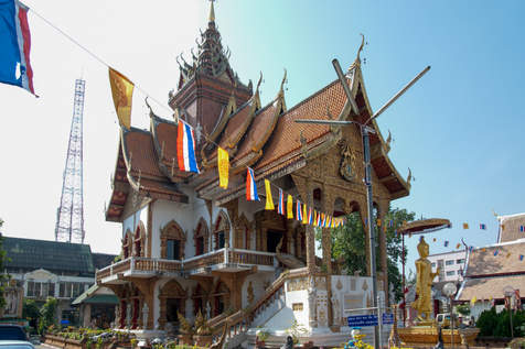 Świątynia, Chiang Mai