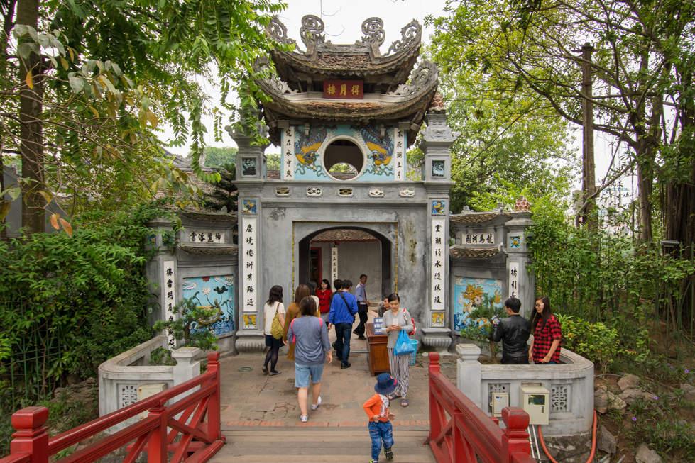 Świątynia Ngoc Son, Hanoi
