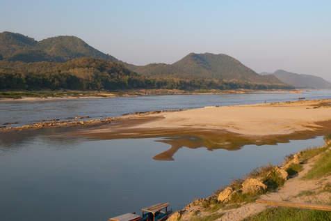 Mekong, Luangprabang, Laos