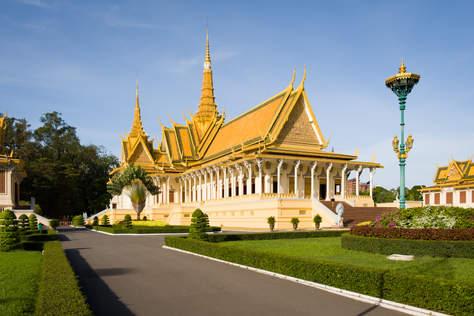 Sala Tronowa, Pałac w Phnom Penh