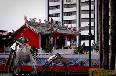 Chińska świątynia, Kuching